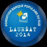 Pastille LAUREAT fondation 2014_130x130